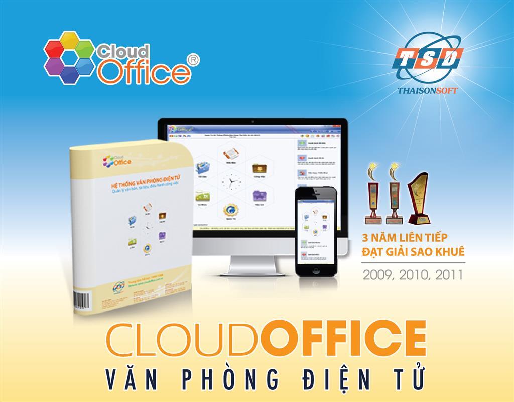 CloudOffice là một trong những sản phẩm tiên phong trong lĩnh vực văn phòng điện tử