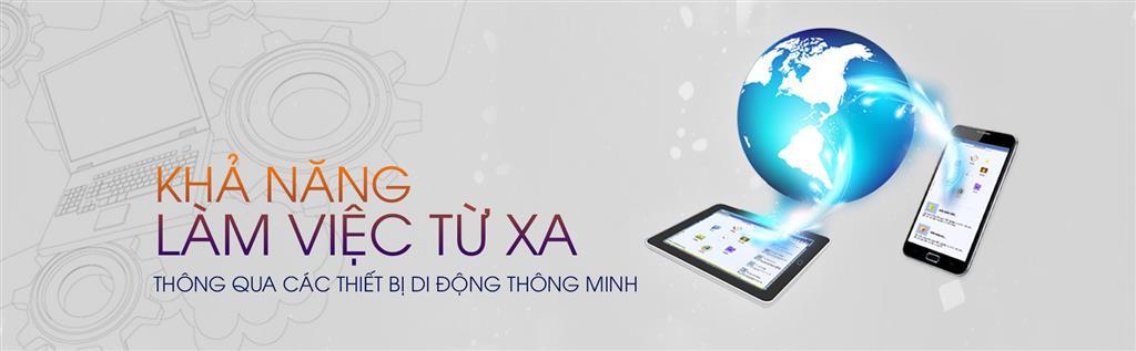 Văn phòng điện tử CloudOffice giúp lãnh đạo linh hoạt điều hành công việc